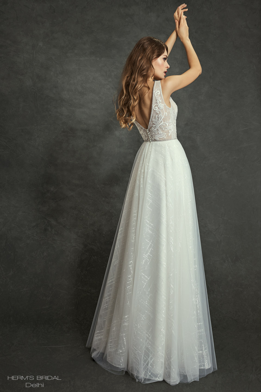 wedding dress Herms Bridal Delhi 2