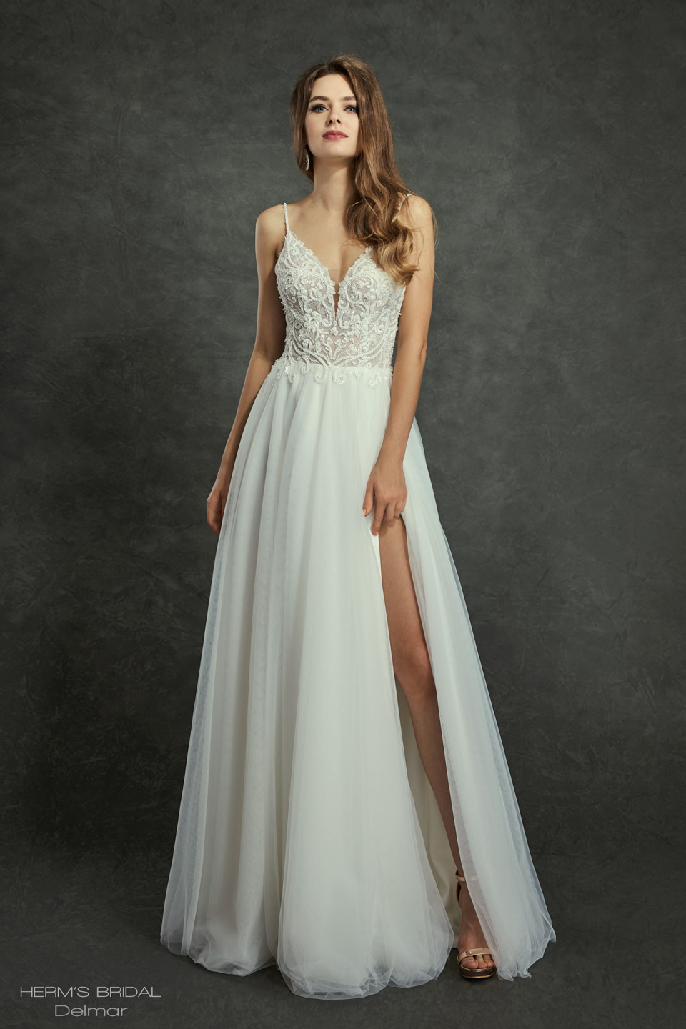 wedding dress Herms Bridal Delmar 1