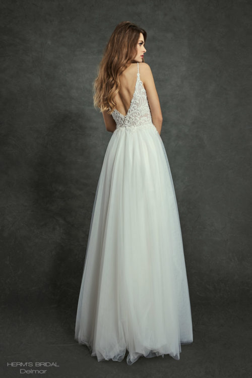 wedding dress Herms Bridal Delmar 2