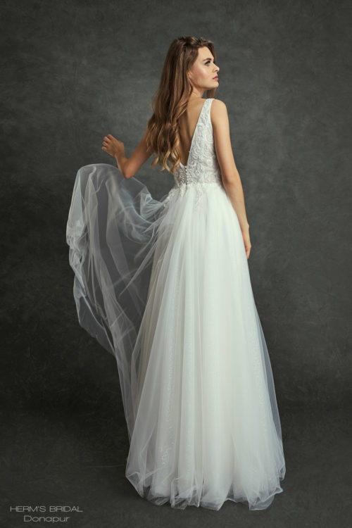 wedding dress Herms Bridal Donapur 2