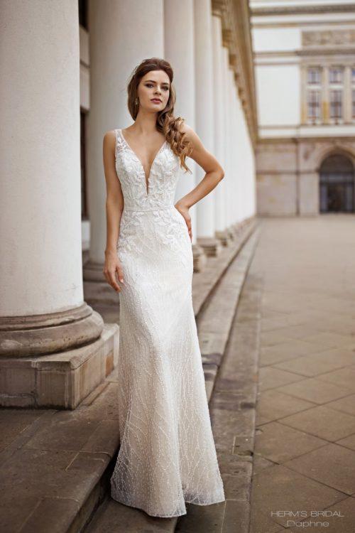 wedding dress herms bridal Daphne 1