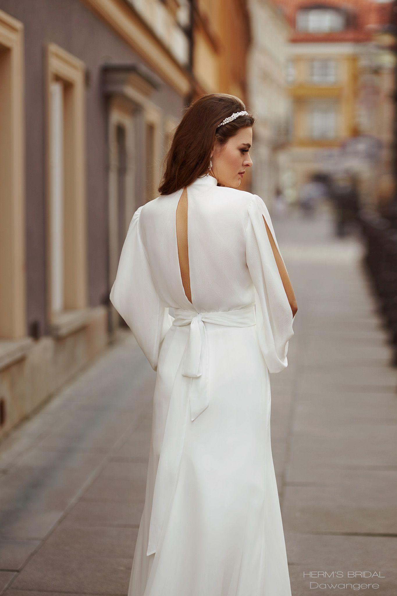 suknia slubna herms bridal Dawangere 4