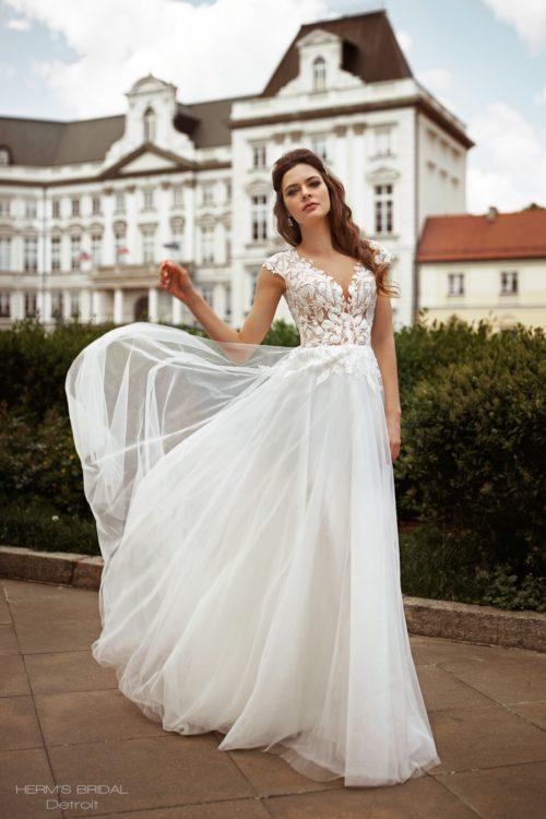 wedding dress herms bridal Detroit 1