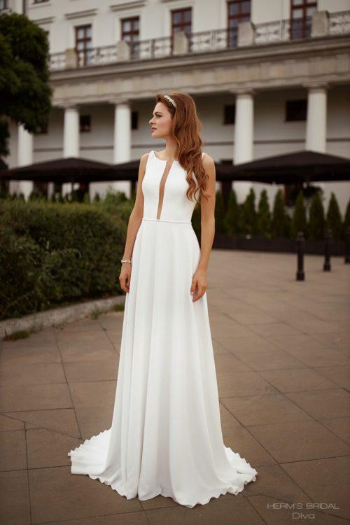 wedding dress herms bridal Diva 1