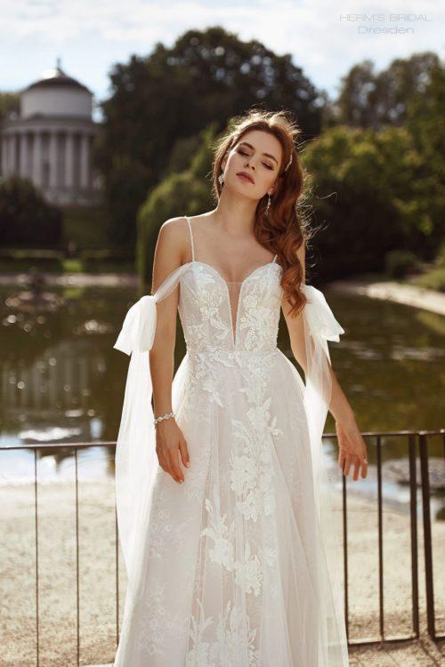 wedding dress herms bridal Dresden 1