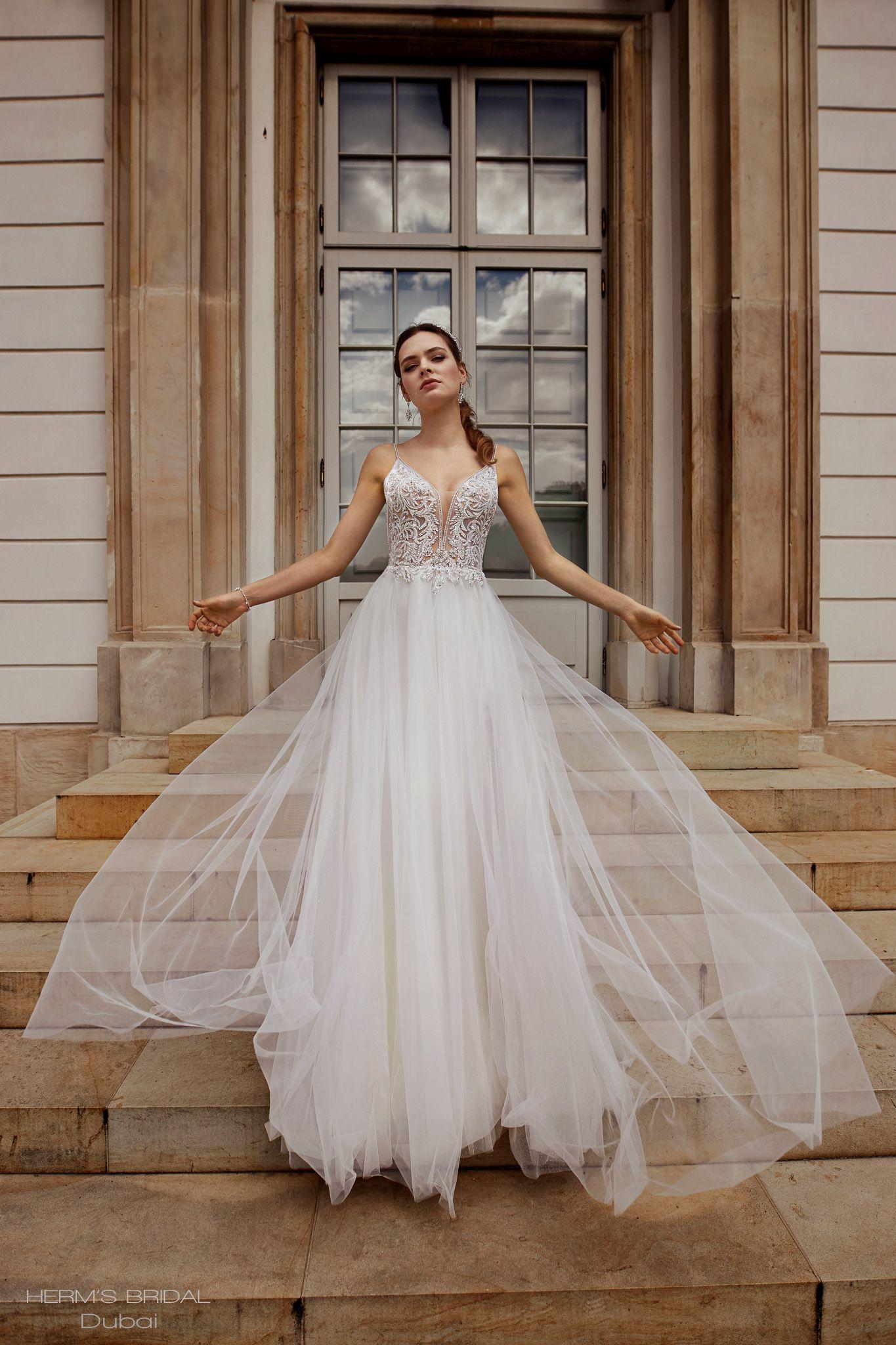 suknia slubna herms bridal Dubai 1