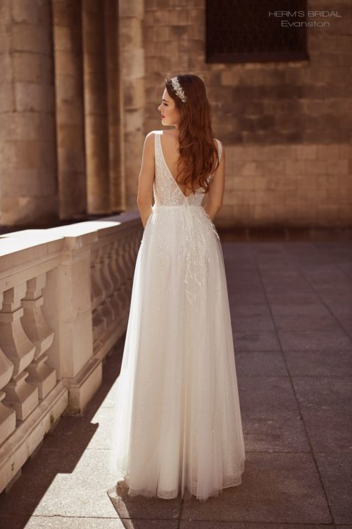 suknia slubna herms bridal Evanston