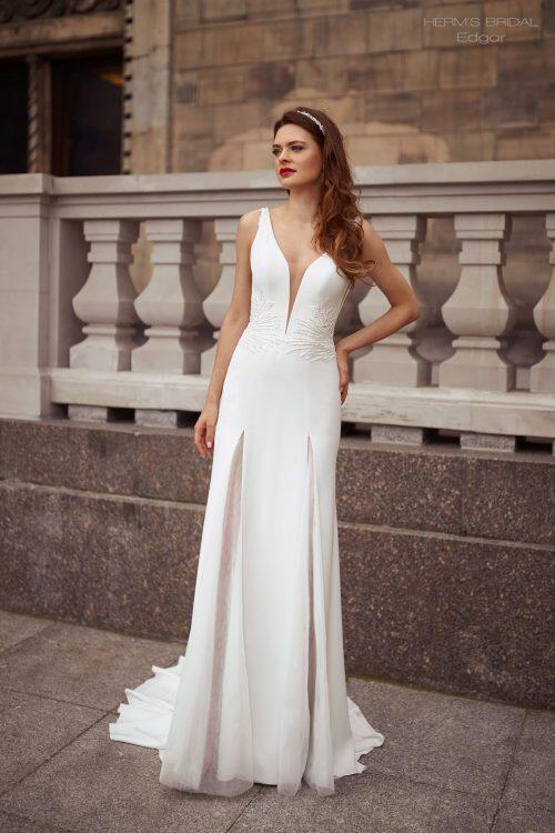 wedding dress Herms BridalEdgar