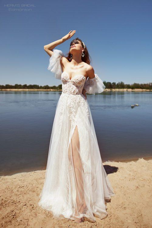 wedding dress Herms BridalEdmonton