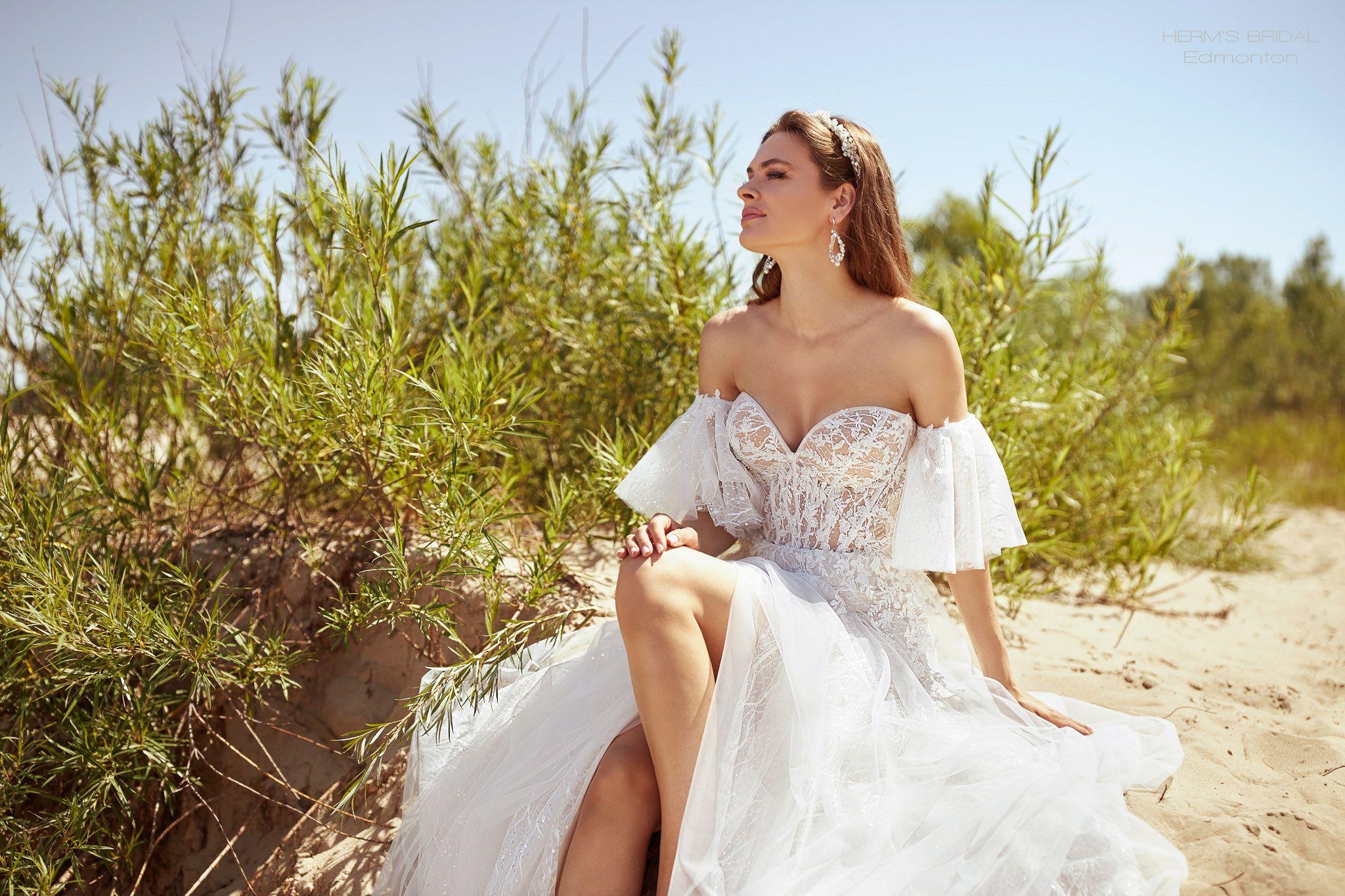 suknia slubna herms bridal Edmonton