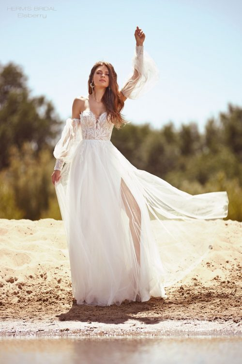 wedding dress Herms BridalElsberry