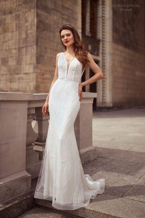 wedding dress Herms BridalEstell