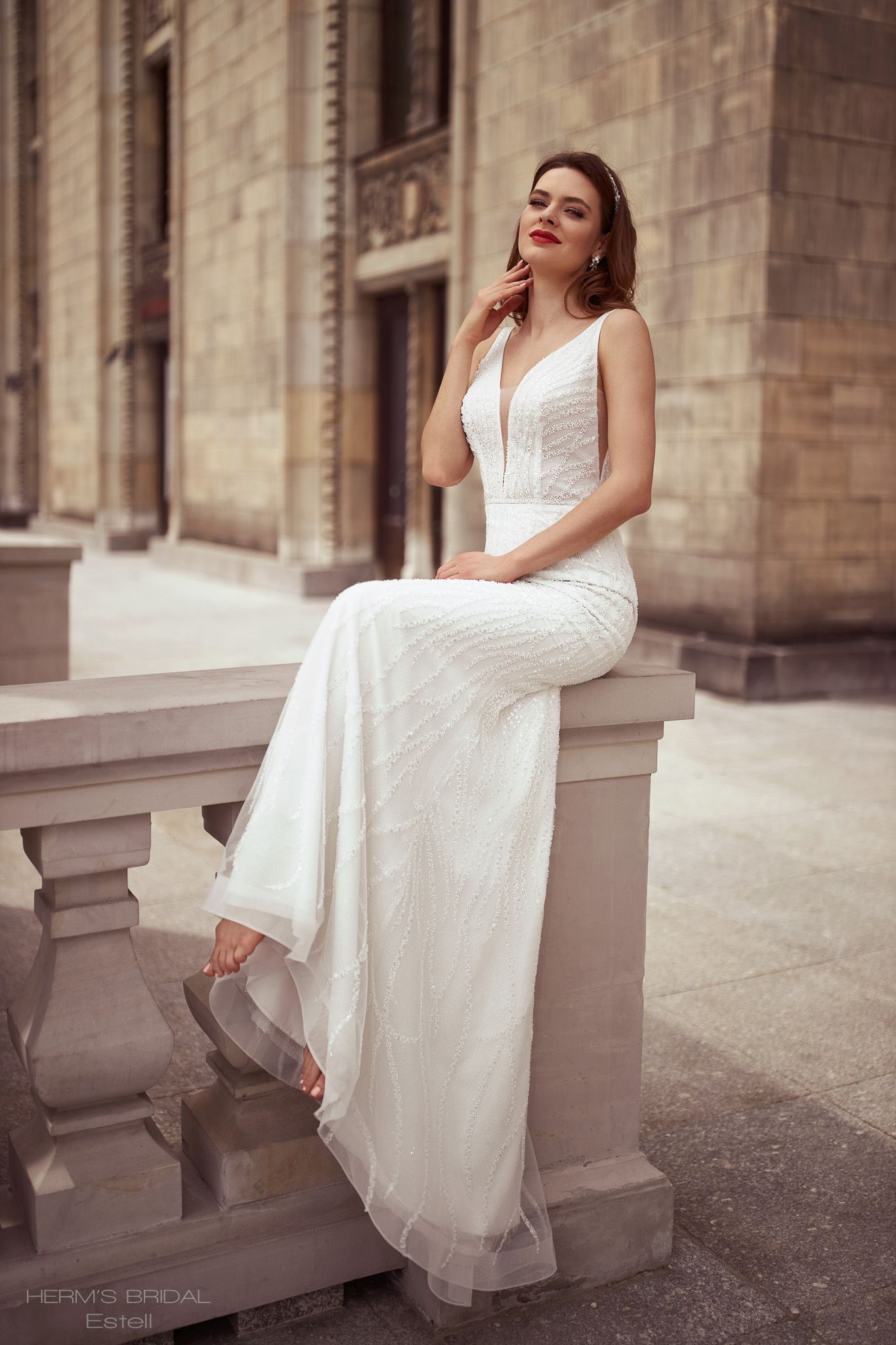 suknia slubna herms bridal Estell